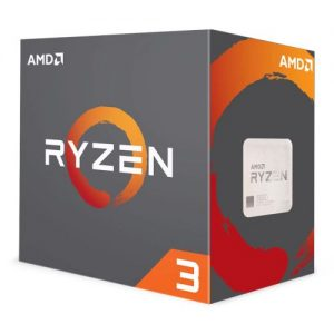 AMD Ryzen 3 1200 CPU with Wraith Cooler