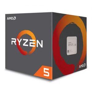 AMD Ryzen 5 2600X CPU with Wraith Cooler
