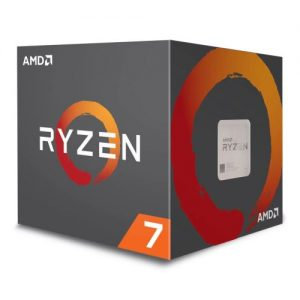 AMD Ryzen 7 1700 CPU with Wraith Cooler