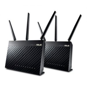 Asus AiMesh AC1900 Whole-Home Wi-Fi System 2 Pack - 2 x RT-AC67U Routers