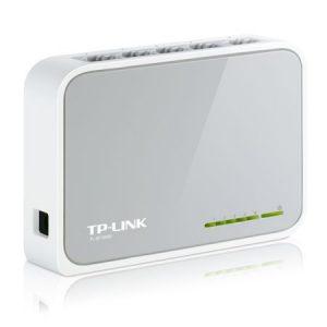 TP-LINK (TL-SF1005D V13) 5-Port 10/100Mbps Unmanaged Desktop Switch