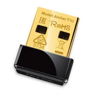 TP-LINK (Archer T1U) 433Mbps AC Wireless Nano USB Adapter