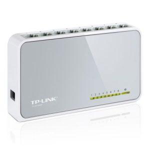 TP-LINK (TL-SF1008D V8) 8-Port 10/100 Unmanaged  Desktop Switch